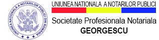 SOCIETATE PROFESIONALĂ NOTARIALĂ  GEORGESCU